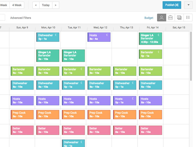 monthly schedule maker